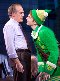 Mark Jacoby and Sebastian Arcelus in the original Broadway production