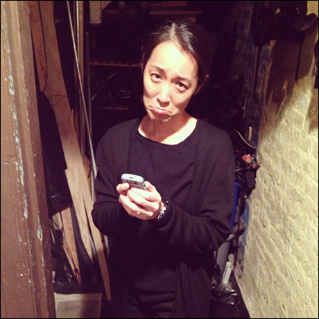 Hearing the news from our Stage Manager, Janet Takami, that hurricane Sandy has officially canceled our second show!