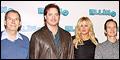 Elling Stars Brendan Fraser, Denis O'Hare and Jennifer Coolidge Meet the Press