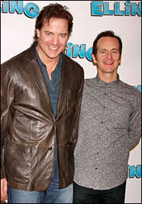 Brendan Fraser and Denis O'Hare