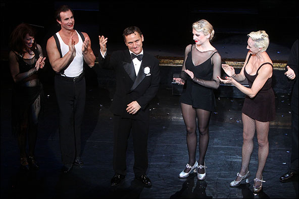 Donna Marie Asbury, R. Lowe, Elvis Stojko, Anne Horak and Amra-Faye Wright