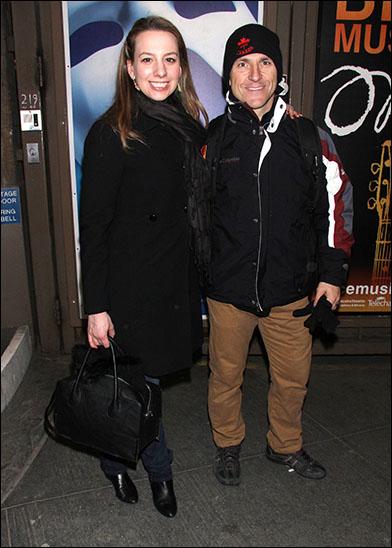 Sarah Hughes and Elvis Stojko
