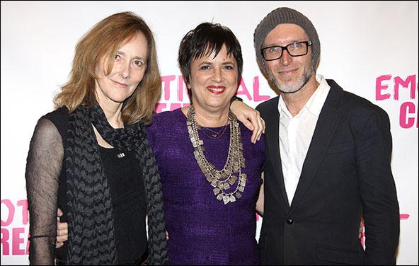 Jo Bonney, Eve Ensler and Charl-Johan Lingenfelder