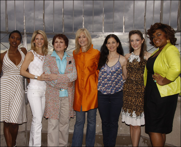 Condola Rashad, Kelli O'Hara, Judy Kaye, Judith Light, Spencer Kayden, Laura Osnes and Da'Vine Joy Randolph