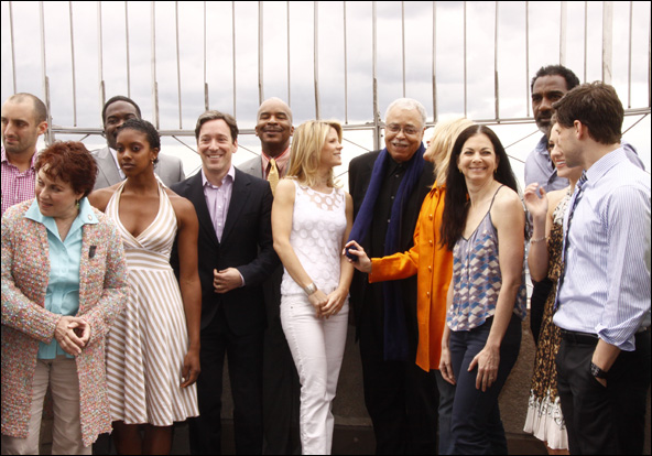 Tom Edden, Judy Kaye, Phillip Boykin, Condola Rashad, Jeremy Shamos, David Alan Grier, Kelli O'Hara, James Earl Jones, Judith Light, Spencer Kayden, Norm Lewis, Laura Osnes and Jeremy Jordan