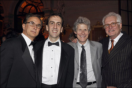 Rob Fisher, Rob Berman, Ted Chapin and Jack Viertel