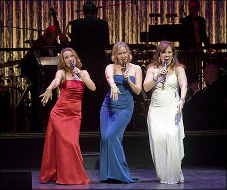 Sarah Uriarte Berry, Rebecca Luker and Debbie Gravitte
