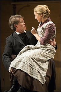 Boyd Gaines and Kathleen McNenny in <i>An Enemy of the People</i>.