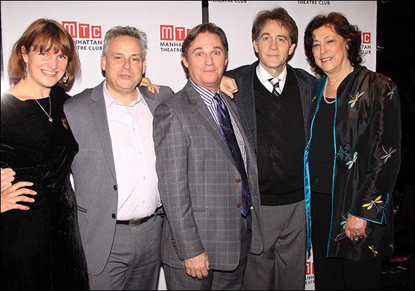 Rebecca Lenkiewicz, Doug Hughes, Richard Thomas, Boyd Gaines and Lynne Meadow