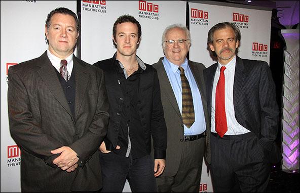 Mike Boland, Andrew Hovelson, John Robert Tillotson and Ray Virta