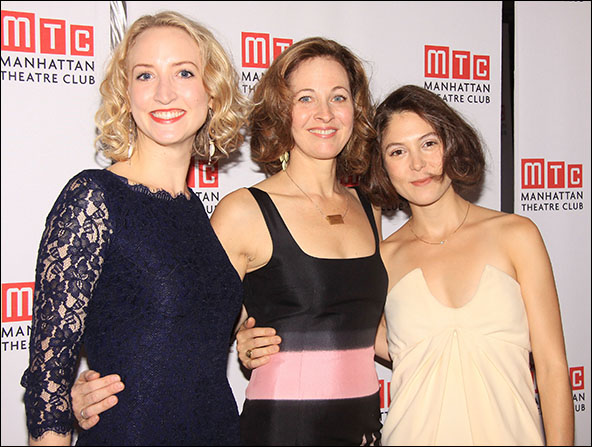 Victoria Frings, Kathleen McNenny and Maite Alina