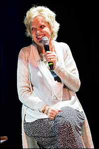 Christine Ebersole chats with Seth on the cruise