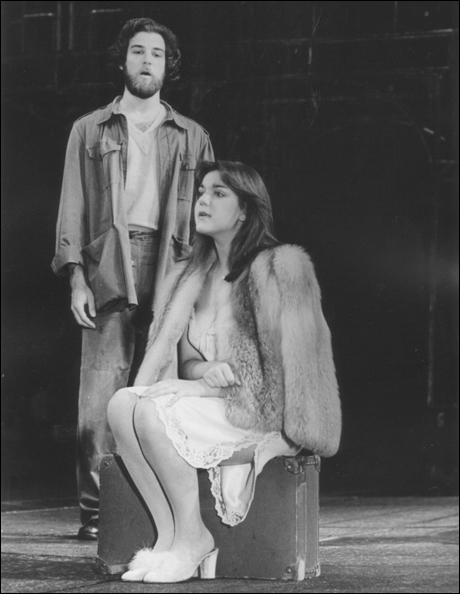 Mandy Patinkin and Jane Ohringer in Evita