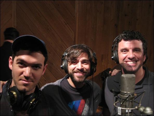 Constantine Germanacos, Daniel Torres and Bradley Dean