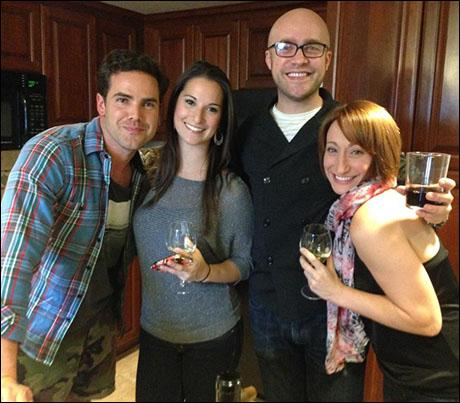 Nick, Robin, Tug, and Morgan on Thanksgiving!