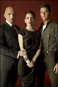 Michael Cerveris, Elena Roger and Ricky Martin