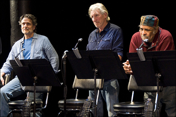 Chris Sarandon, Roger Waters, William Marshall
