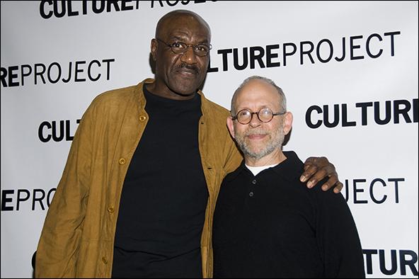 Delroy Lindo and Bob Balaban