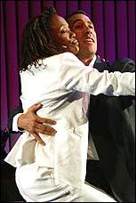 Charlayne Woodard & Robert Montano in <I>Fabulation</I>
