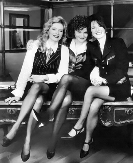 """Jean Smart, Faith Prince and Mary McDonnell in the TV series """"High Society"""""""