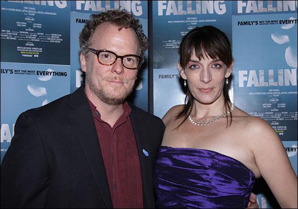 Daniel Pearce and Julia Murney