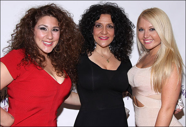 Marissa Perry, Debra Toscano and Meagan Robar from My Big Gay Italian Funeral