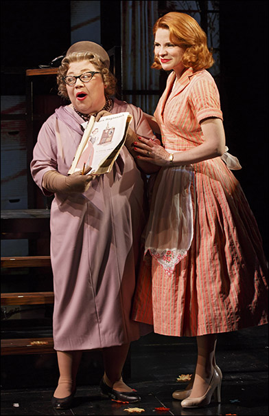 Mary Stout and Kelli O'Hara
