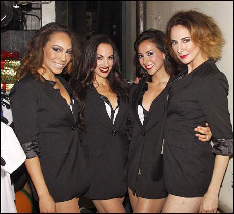 Afra Hines, Nina Lafarga, Kristine Covillo, and Sarrah Strimel