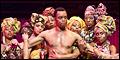 Ngaujah and Mambo Star as Fela! on Broadway