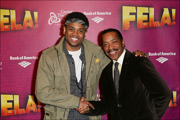Tristan Wilds and Obba Babatunde