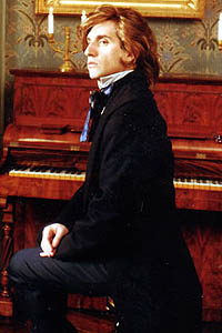 Hershey Felder as Chopin at George Sand's estate in Nohant, France.