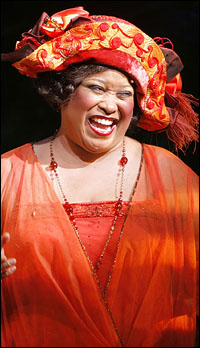 Felicia P. Fields as Sofia in <i>The Color Purple</i>.