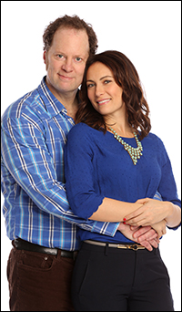 Shuler Hensley and Laura Benanti