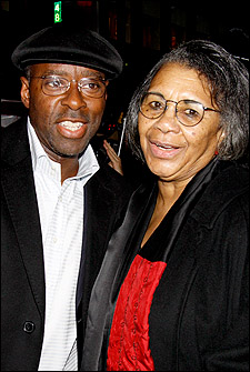 Courtney B. Vance and Mary Alice