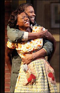 <i>Fences</I> stars Viola Davis and Denzel Washington