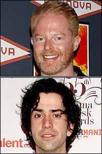 Jesse Tyler Ferguson and Hamish Linklater