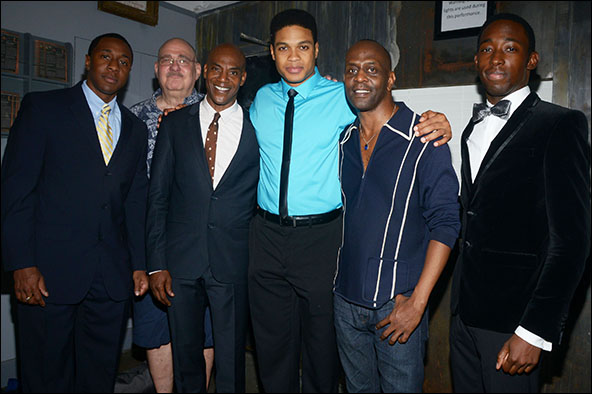 Anthony Gaskins, Richard Masur, John Earl Jelks, Ray Fisher, K. Todd Freeman and Jeremy Tardy