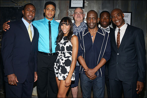 Anthony Gaskins, Ray Fisher, Nikki M. James, Richard Masur, K. Todd Freeman, Jeremy Tardy and John Earl Jelks