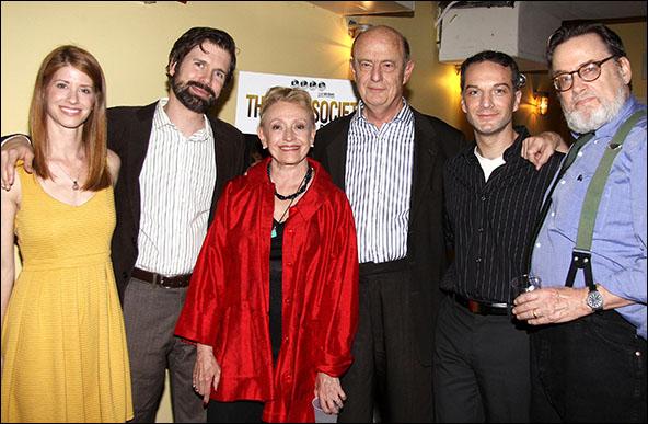 Mandy Siegfried, David Barlow, Roberta Maxwell, Gerry Bamman, Euan Morton and Richmond Hoxie