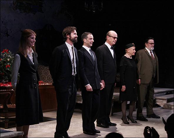 Mandy Siegfried, David Barlow, Euan Morton, Gerry Bamman, Roberta Maxwell and Richmond Hoxie
