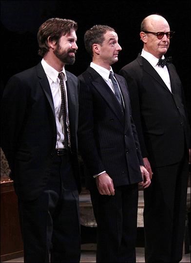 David Barlow, Euan Morton and Gerry Bamman