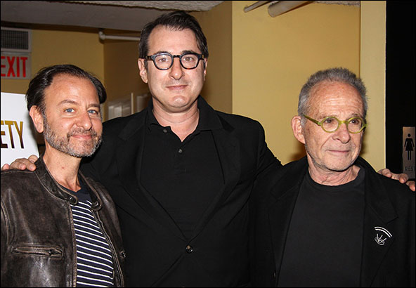 Fisher Stevens, Euan Morton and Ron Rifkin