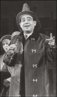 Tom Bosley in the original Broadway production of <i>Fiorello!</i>