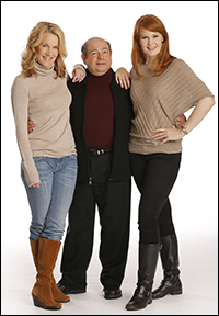 Erin Dilly, Danny Rutigliano and Kate Baldwin