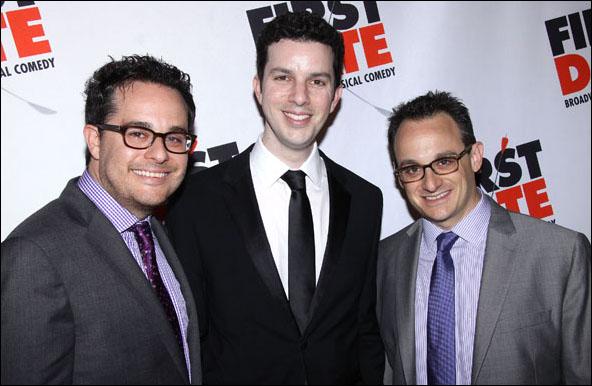 Austin Winsberg, Alan Zachary and Michael Weiner