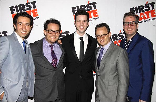 Josh Rhodes, Austin Winsberg, Alan Zachary, Michael Weiner and Bill Berry