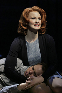 Kate Baldwin and Norbert Leo Butz in <i>Big Fish</i>.