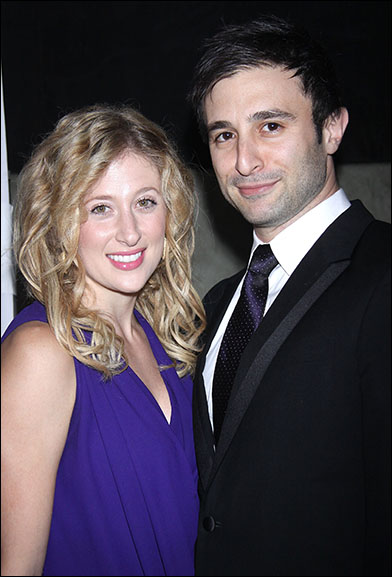 Caissie Levy and David Reiser