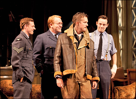 Joe Armstrong, Clive Wood, Mark Dexter and Harry Hadden-Paton