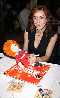 Andrea McArdle at the 2012 Broadway Flea Market